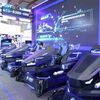 China Hot New Sale New Model Vr Arcade Vr Driving Motion Simulator 9d Vr Car Racing on sale