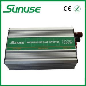 China Modified Sine Wave Power Inverter 1000w Peak Power 2000w DC to AC 24v to 220v on sale