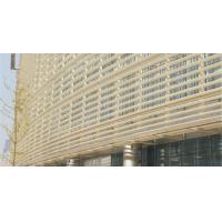 Industrial Rhombus Louver Aluminum alloy Sun Shade System anti-corrosion for sale