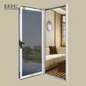 Rectangle Aluminium Sash Windows , Stainless Net Anodized Bronze Aluminum Windows Manufactures