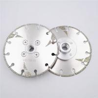 125mm Electroplated Reinforced Diamond Cutting Blade M14 Thread 5 Inch With Protection Manufactures