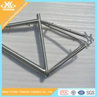 High Quality Gr9 Titanium Bicycle Frame For BMX Bikes