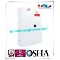 Chemical Security Hazardous Storage Cabinets White With Electronic Lock Manufactures