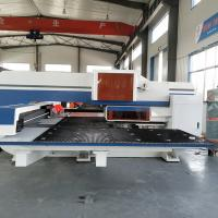 AMD-357 Mechanical CNC Sheet Metal Punching Machine For Electric Control Cabinet Panels Manufactures