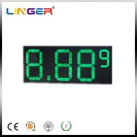 "10"" 8.889 7 Segments LED Gas Price Sign 110V ~ 240V AC 100000 Hours Life Span Manufactures"