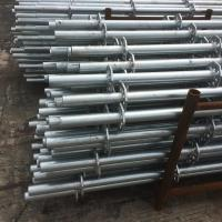 Quality Pillar 2 mm Galvanized Steel Scaffolding Hot Dip For Event TUV Certification for sale