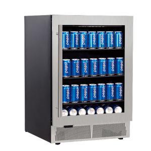 China Hotel built-in single-door beverage cooler refrigerator on sale