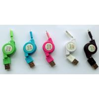 China Retractable iphone5 usb cable, usb data cable for iphone5, retractable usb cable on sale