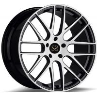 2-piece Gloss Black Machined 21 Rims For 911 Forged Rims Wheels Manufactures