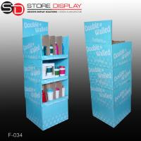 Stackable Corrugated paper PDQ Trays for water bottles Manufactures