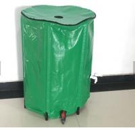 Flexible 100L Collapsible PVC Water Butt Rain Barrel For Garden Rainwater Collector Manufactures