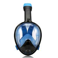 Wide View Snorkeling Full Face Snorkel Mask With Anti - Leak Free Breathing Manufactures