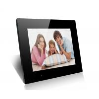 Black 15 Family And Friends LCD Digital Photo Frame With Mirror Cover