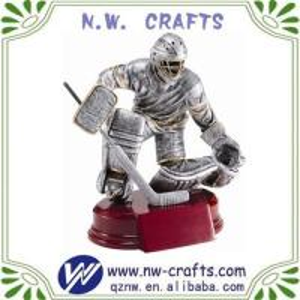 China Hockey Sports Award Sculpture on sale