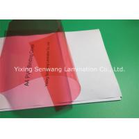 8 Mil PVC Binding Covers Clear Finish A4 Clear Front Report Cover Manufactures