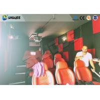 Motion Seat In XD Theatre With Cinema Simulator System / Special Effect Machine Manufactures
