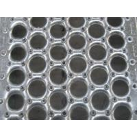 American Perf O Grip Grating , Galvanized Perforated Walkway Grating Manufactures