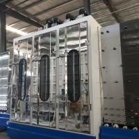 China Glass Washing And Drying Machine With PLC Comtrol for sale