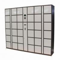 Coin Operated Digital Smart Lockers for Rental in Public, 36 Doors Intelligent Parcel Delivery Locke Manufactures