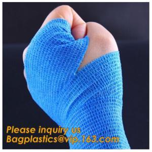 Sport Medical Plaster Bandage,Elastic Knee Brace Fastener Support Guard Gym Sports Bandage,latex free cohesive bandage s Manufactures