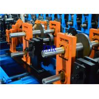 1.2MM - 3MM Q195-235 Blue Z C Purlin Forming Machine With 17 Forming Roller Manufactures