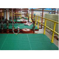 Heavy Duty FRP Plastic Floor Grating For Work Platform Smooth Surface Manufactures