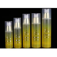 China PP Opaque Airless Empty Cream Bottle , Cosmetic Packaging Spray Bottles on sale