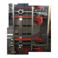 China Compact Structure Gasketed Plate Heat Exchanger Sensitive Temperature Control on sale