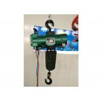 Durable Green Steel 6 Ton Air Pneumatic Chain Hoist Explosion Proof Manufactures