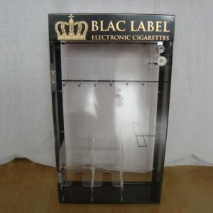 Counter top Acrylic Cigarette Display Stand With Locked Door Manufactures