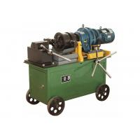 China Max 40 Mm Portable Rebar Threading Machine With Wheels Heavy Duty on sale