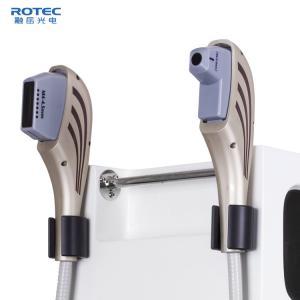 China Beauty Salon HIFU Machine Ultrasound Anti Wrinkle Removal Equipment White on sale