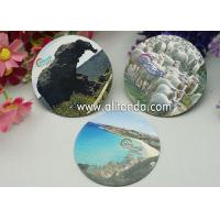 Logo print mirror type thin piece fridge magnets custom with any image design Manufactures