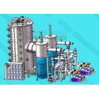 DC Power PVD Vacuum Coating Machine Metal Film Plating With PLC Control Manufactures