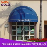 China 2015 commercial french style aluminum dome window awning on sale