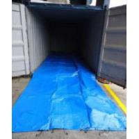 HDPE fabric dry bulk container liner for packing salted goat skins Manufactures