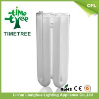 Environmentally Friendly u Shaped Fluorescent Tube , 4 U Compact Fluorescent Bulb Manufactures