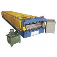 300H steel welding CNC automatic color galvanized steel sheet roll forming machine  Manufactures