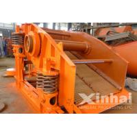 China Double Deck Vibrating Screening Machine , Circular Vibrating Screen For sand on sale