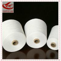 high quality polyester spun virgin yarn 53s/1 for knitting Manufactures