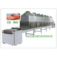 Continuous Belt Type Frozen Food Thawing Machine , Microwave Thawing Equipment Manufactures