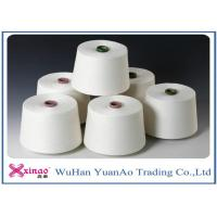 Ne40 Colored 100% Yizheng  Spun Polyester Yarn Raw White For Sewing Manufactures