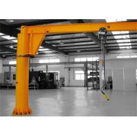 Workshop Hoist Cantilever Swing Arm Jib Crane Customized Color 2 Years Warranty Manufactures