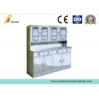 2 Drawers Hickey Cabinet Hospital Side Table With Big Storage ( ALS - CA004) Manufactures