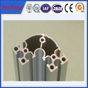 oem aluminium extruded profile manufacturer/ electrophoresis aluminium corner profiles Manufactures