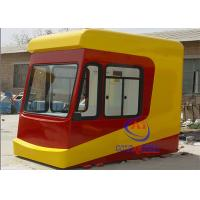 China New Design Park / Zoo Mobile Security Guard House / Amusement Sentry House Enviroment Friendly on sale