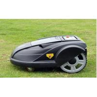 Quality Cordless automatic robot lawn mower,electric lawn mower with LCD display, language optional for sale