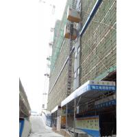 China Q345B Steel Construction Site Elevator Lifting Speed 0–46 M/Min SC200/200BZ for sale