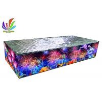 China 197 Shots Consumer Compound Cake Fireworks Fan Shape Effect For Event Celebration on sale