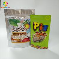 Lamination Stand Up Zipper Pouch Bags Flexible Packaging Food Pouches For Nuts Snacks Manufactures